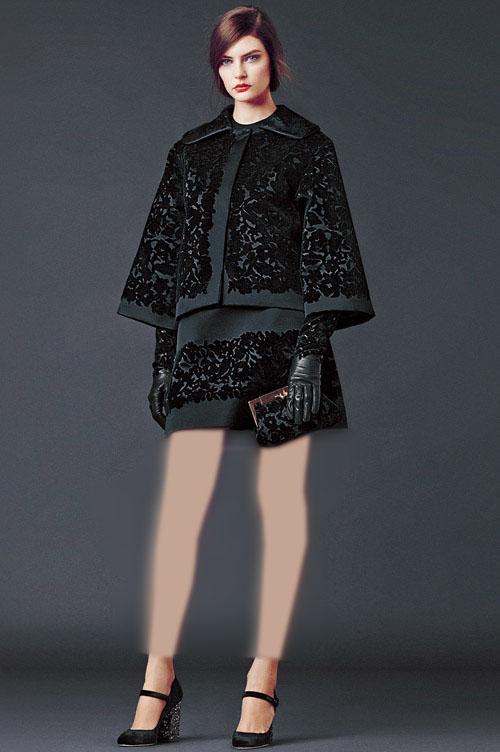 مدل لباس زنانه مدل لباس,کیف,کفش,جواهرات  , مدل لباس زنانه دولچه و گابانا (3) - لباس مجلسی