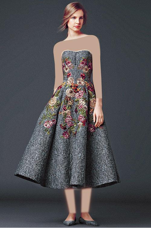 پیراهن مجلسی - لباس زنانه Dolce And Gabbana