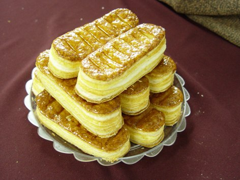 خمیر هزارلا -- شیرینی پاپیونی - شیرینی زبان