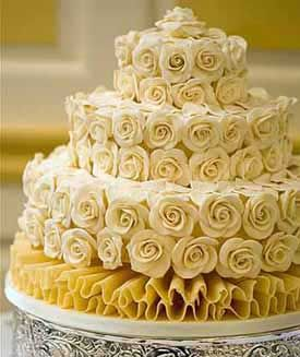 نان، شیرینی، دسر  , طرز تهیه گل رز شکلاتی