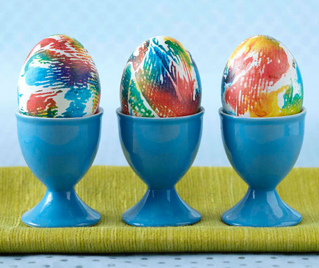 تزیین تخم مرغ هفت سین - رنگ کردن تخم مرغ