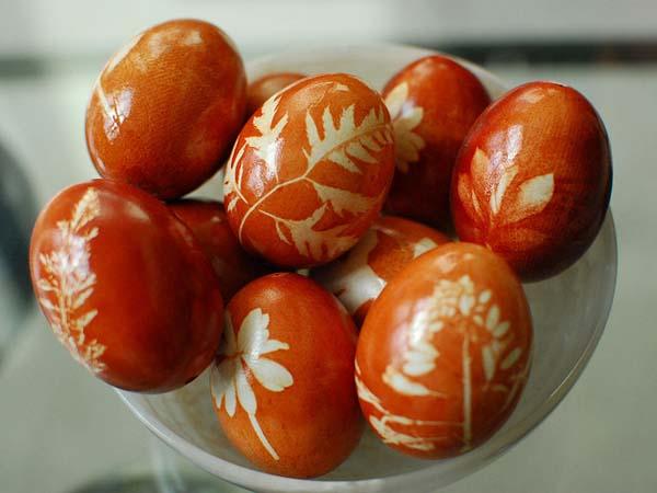 روش های جالب رنگ آمیزی تخم مرغ - تزیینات هفت سین - تخم مرغ رنگی