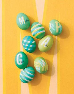 رنگ کردن تخم مرغ سفره هفت سین