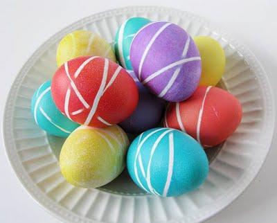 روش های جالب رنگ کردن تخم مرغ - تزیینات هفت سین - تخم مرغ رنگی