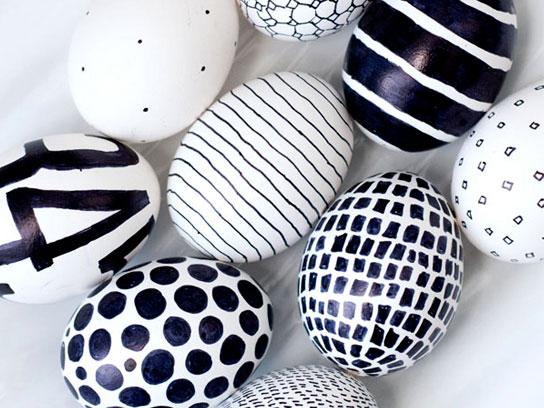تزئین تخم مرغ سفره هفت سین
