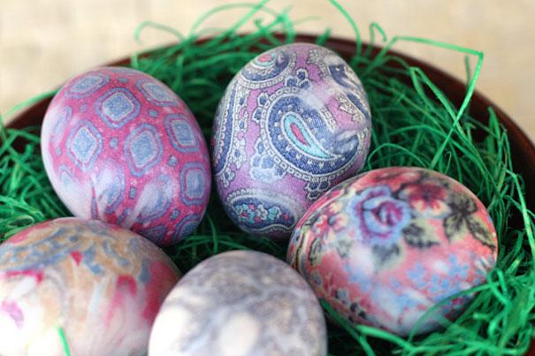 آموزش هنرهای دستی  , رنگ کردن تخم مرغ هفت سین