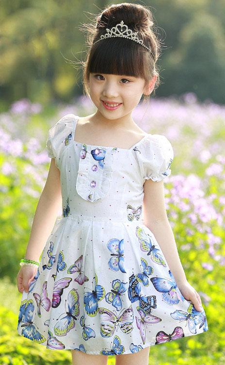 مدل لباس بچگانه - پیراهن مجلسی بچگانه - پیراهن دخترانه - سارافان بچگانه