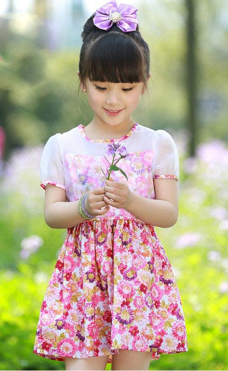 مدل لباس دخترانه- پیراهن مجلسی بچگانه - پیراهن دخترانه - سارافان بچگانه
