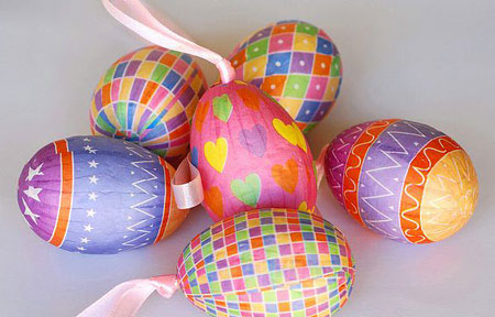 مدل تزیین تخم مرغ - تخم مر غ هفت سین - تزیینات سفره هفت سین