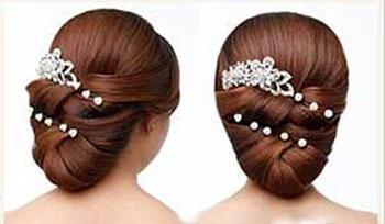 آموزش مدل موی مناسب نامزدی - مدل موی عروس