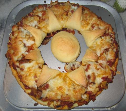 طرز تهیه پیتزا گل آفتابگردان