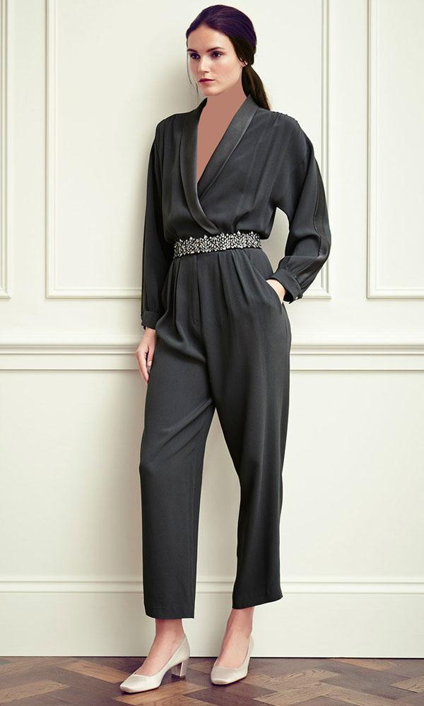 مدل پیراهن مجلسی دخترانه مشکی