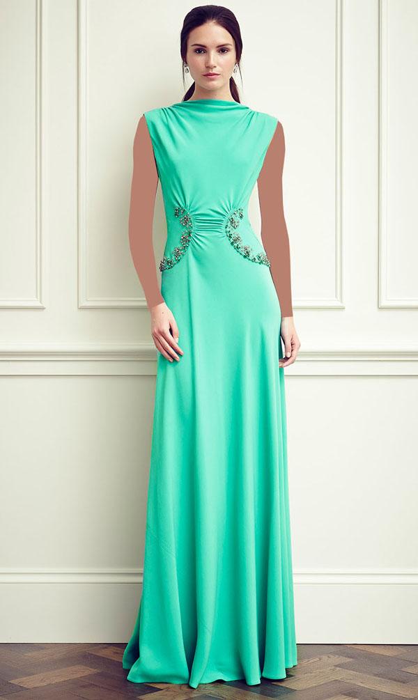 مدل لباس مجلسی زنانه - لباس های مجلسی برند Jenny Packham