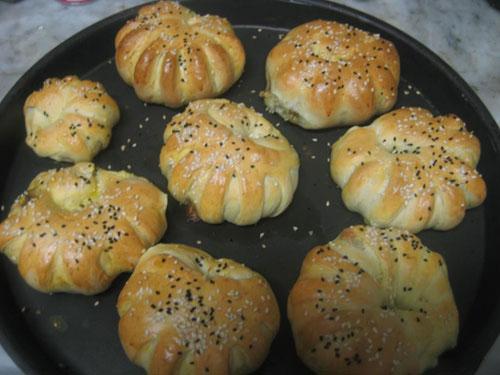 نکات آشپزی  , آموزش طرز پیچیدن خمیر پیراشکی (2)