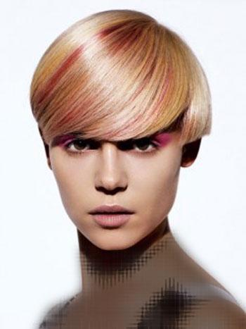 مدل موی کوتاه زنانه 2015 - جدیدترین رنگ و هایلایت مو