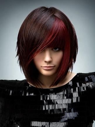 مدل های موی کوتاه زنانه 2015 - جدیدترین رنگ و هایلایت مو