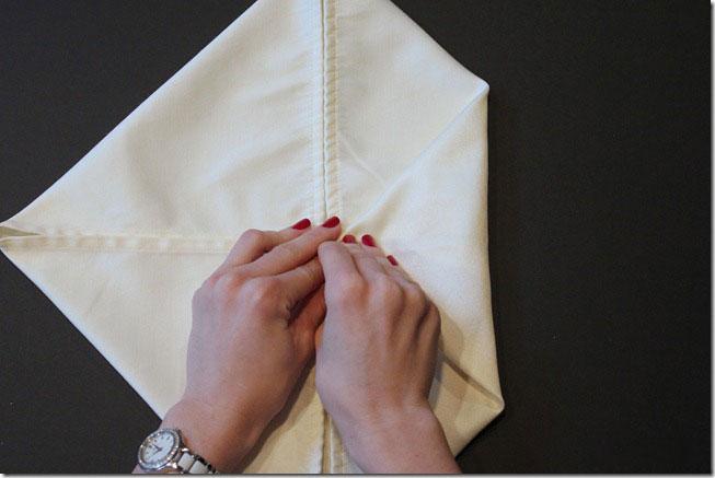 تزئین دستمال سفره - سفره آرایی