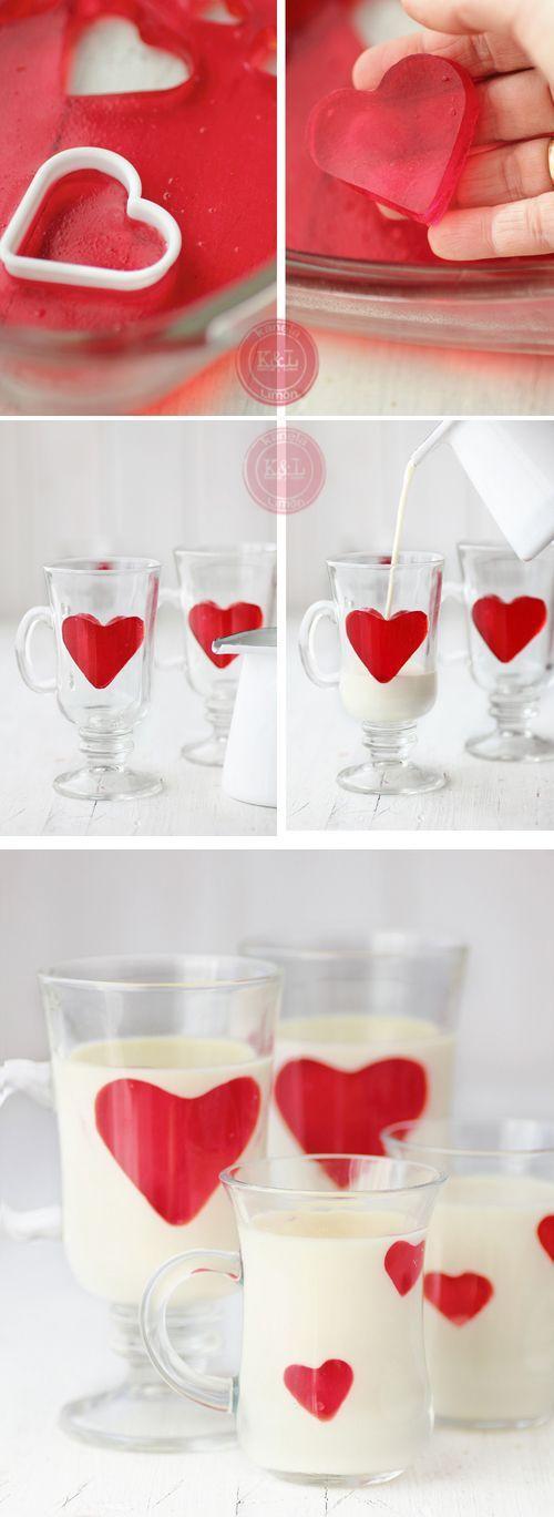 تزیین نوشیدنی سرد توسط ژله