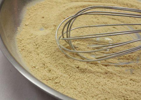 نکات آشپزی  , طرز تهیه آرد سوخاری