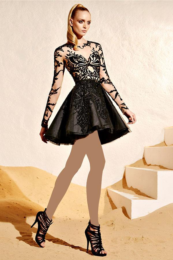 مدل لباس زنانه مدل لباس,کیف,کفش,جواهرات  , مجموعه لباس مجلسی زهیر مراد (2)