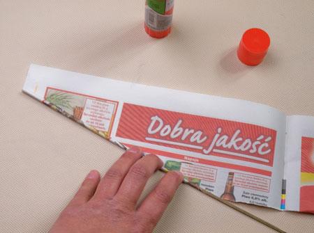 آموزش تصویری ساخت بادبزن با کاغذ و مقوا