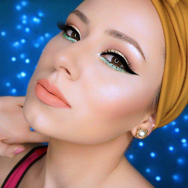 مدل آرایش ,آرایش چهره , میکاپ , مدل آرایش صورت , آرایش بهاری