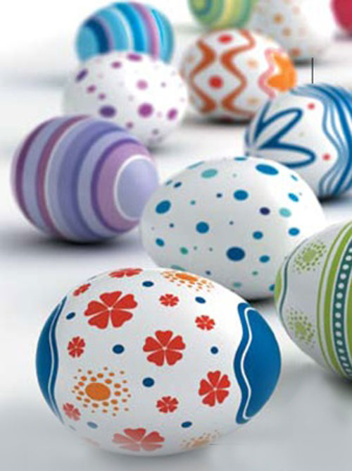 مدل تزئین تخم مرغ - تخم مر غ هفت سین - تزیینات سفره هفت سین