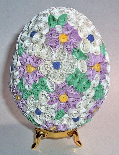 تزئین تخم مرغ, تزئین تخم مرغ سفره هفت سین,تزیین تخم مرغ با کاغذ,هفت سین 94, تصاویر تخم مرغ سفره هفت سین