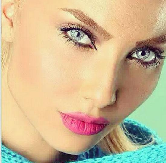 عکس بهاره پرستار - عکس ملانی - سوپر مدل ایرانی