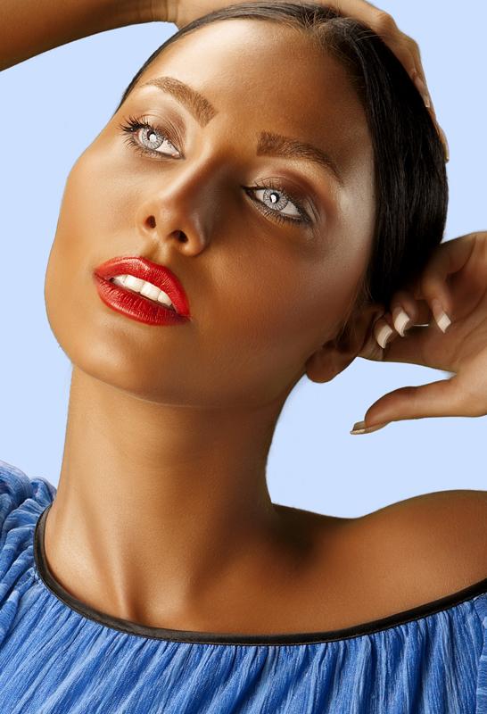 عکس بهاره پرستاری - عکس ملانی - سوپر مدل ایرانی