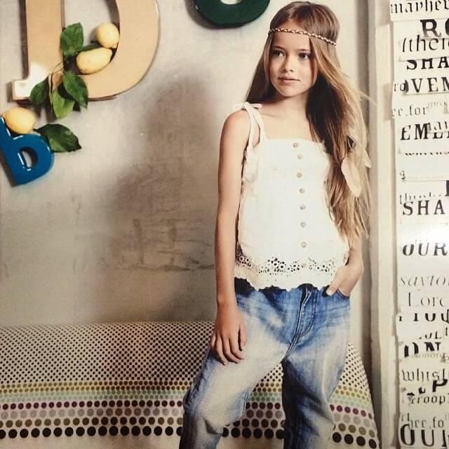 کریستیناپیمنوا (Kristina Pimenova) سوپرمدل و فرشته ی کوچک و زیبا