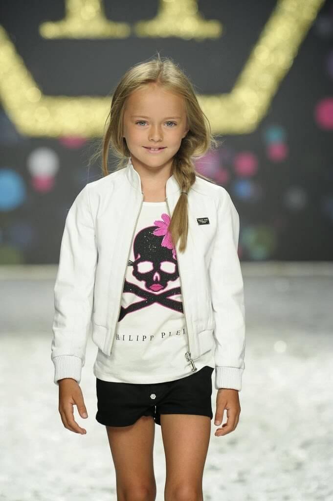کریستینا پیمنوا(Kristina Pimenova) سوپرمدل و فرشته ی کوچک و زیبا