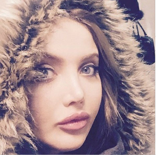 نهال مدل زیبای ایرانی