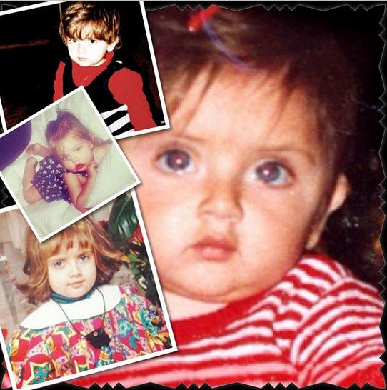 عکس های زیبا از کودکی نهالسلطانی