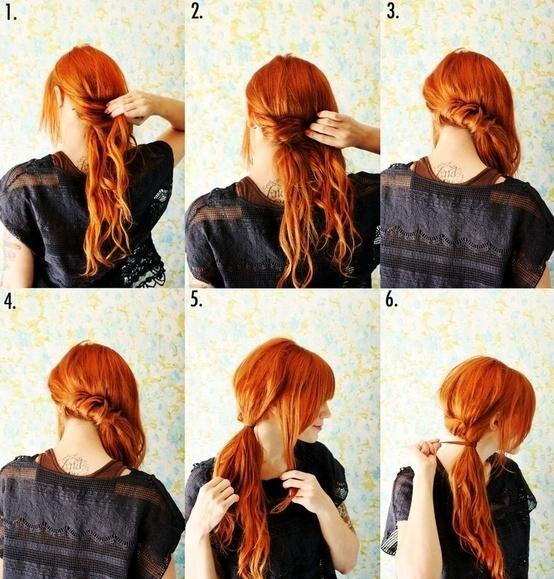 مدل مو - آموزش بستن مو - مدل موی دخترانه