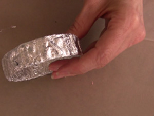 آموزش ساخت زیورآلات ,  ساخت دستبند با طرح برجسته