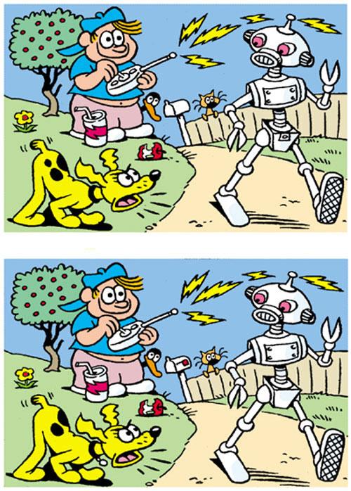 سرگرمی - پیدا کردن اختلاف بین دو تصویر - بازی