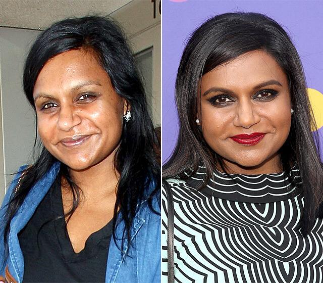 تغییر چهره ستاره های هالیوود با آرایش - اثر میکاپ - زنان هالیوودی قبل و بعد از آرایش