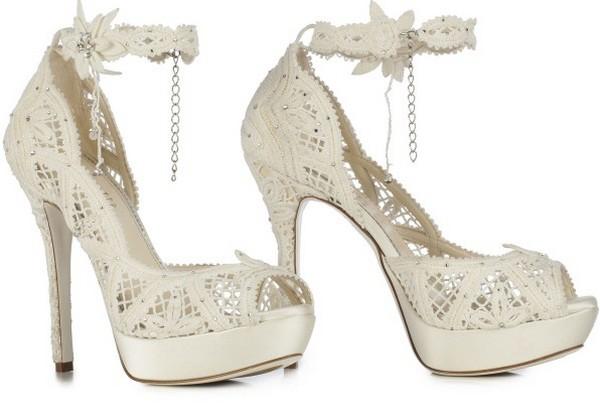 کفش عروس - مدل های جدید کفش عروس 2015