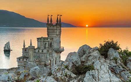 قلعه آشیانه پرستو - اوکراین