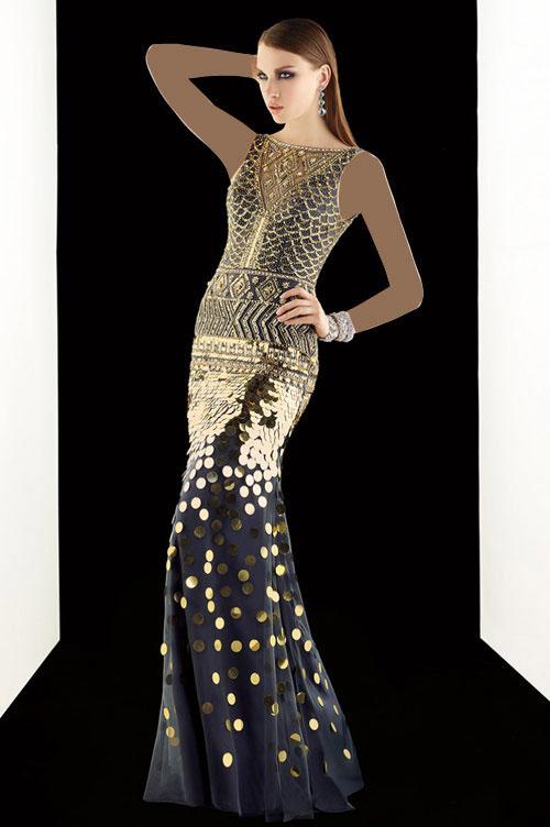 مدل لباس مجلسی Alyce Paris , ماکسی مجلسی , پیراهن مجلسی , پیراهن مجلسی پوشیده