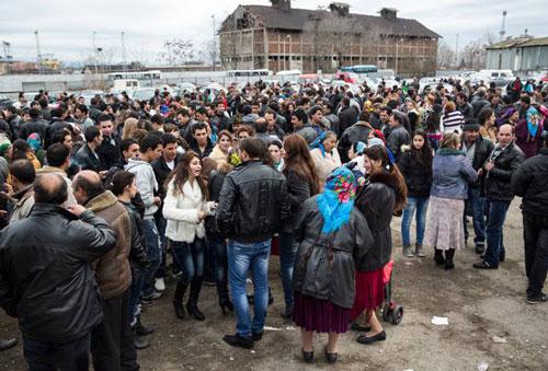 بازار عروس در بلغارستان