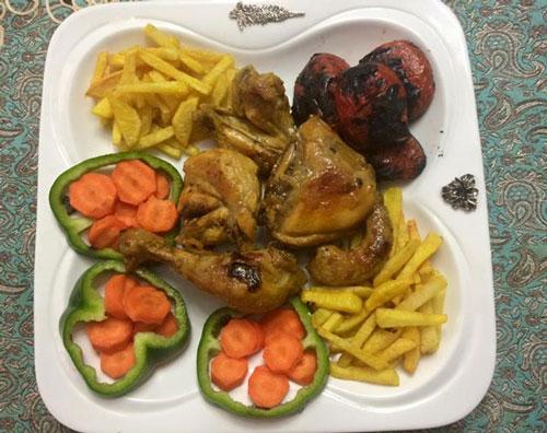دستور پخت غذا  , طرز تهیه مرغ ذغالی