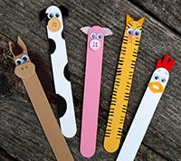 آموزش هنرهای دستی  , کاردستی های خلاقانه با چوب بستنی