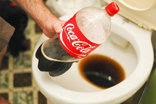 پاک کننده قوی - استفاده غیرخوراکی از نوشابه های گازدار