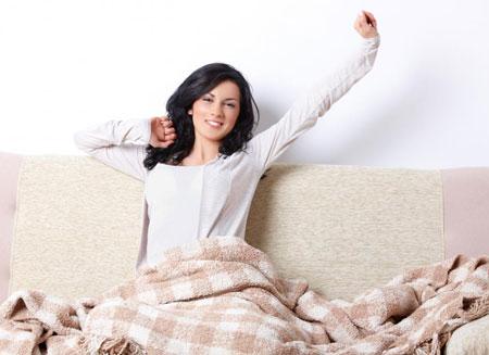 خواب راحت - سرحال بیدار شدن - خوب خوابیدن