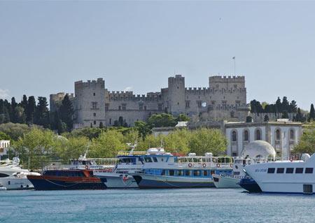 جاذبه های سایر کشورها گردشگری  , کاخ استاد بزرگ شوالیه رودس (+تصاویر)