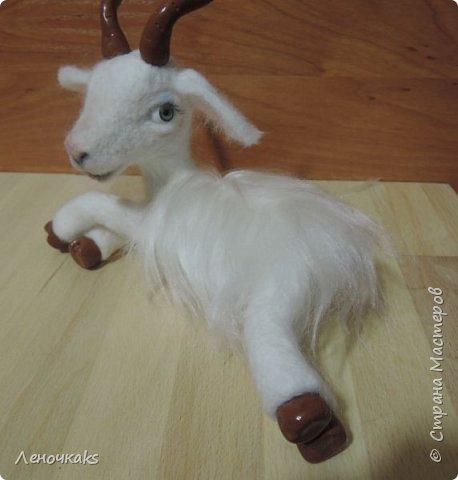آموزش تصویری ساخت عروسک بز پشمی - تزیین سفره هفت سین 94 - سال بز