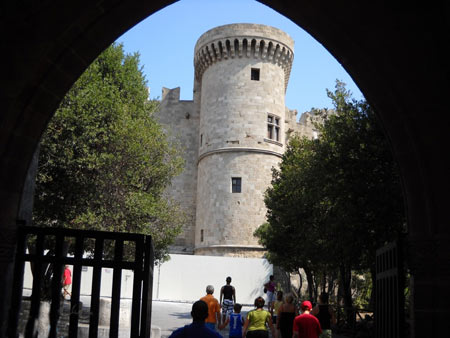 یونان,رودس,کاخ استاد بزرگ شوالیه رودس,تصاویر کاخ استاد بزرگ شوالیه رودس,اماکن تاریخی یونان