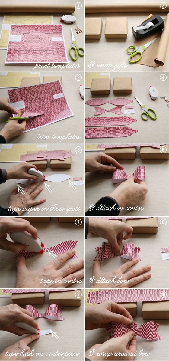 Paper Bows Tutorial